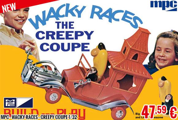 New - MPC - Wacky Races - Creepy Coupe 1/32