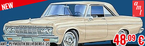 New - AMT - Plymouth Belvedere 1/25