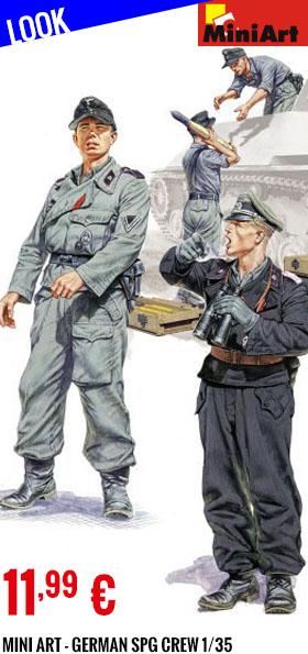 Look - Mini Art - German SPG Crew 1/35