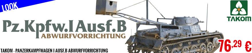 Look - Takom - Panzerkampfwagen I Ausf.B Abwurfvorrichtung