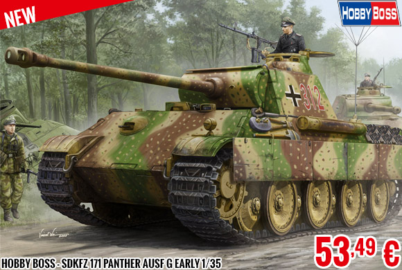 New - Hobby Boss - SdKfz 171 Panther Ausf G Early 1/35