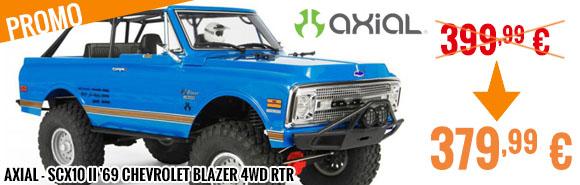 Promo - Axial - SCX10 II '69 Chevrolet Blazer 4WD RTR