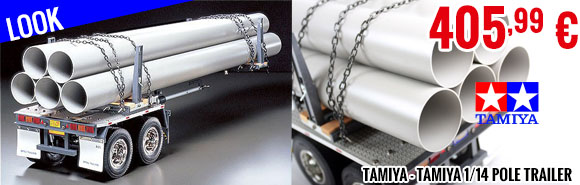 Look - Tamiya - Tamiya 1/14 Pole Trailer