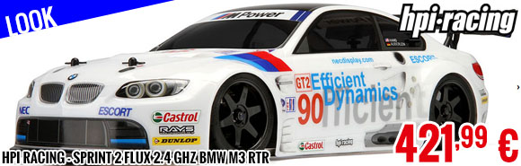 Look - HPI Racing - Sprint 2 Flux 2.4 GHz BMW M3 RTR