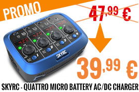 Promo - SkyRC - Quattro Micro battery AC/DC charger