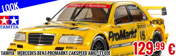 Look - Tamiya - Mercedes Benz ProMarkt-Zakspeed AMG - TT-01E