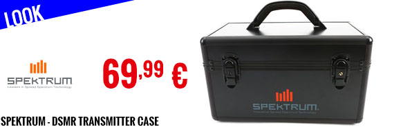 Look - Spektrum - DSMR Transmitter Case