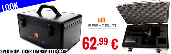 Look - Spektrum - DX6R Transmitter Case