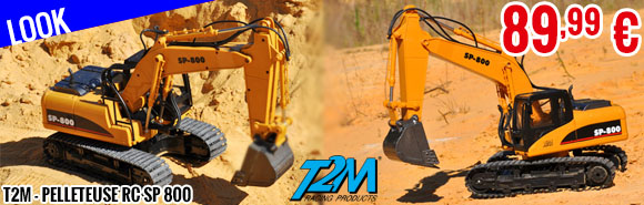 Look -  T2M - Excavator RC SP 800