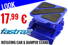 Look - Fastrax - Rotating Car & Damper stands