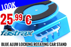 Look - Fastrax - Blue Alum locking rotating car maintenance stand with magnet