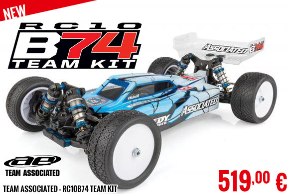 New - Team Associated - RC10B74 Team Kit