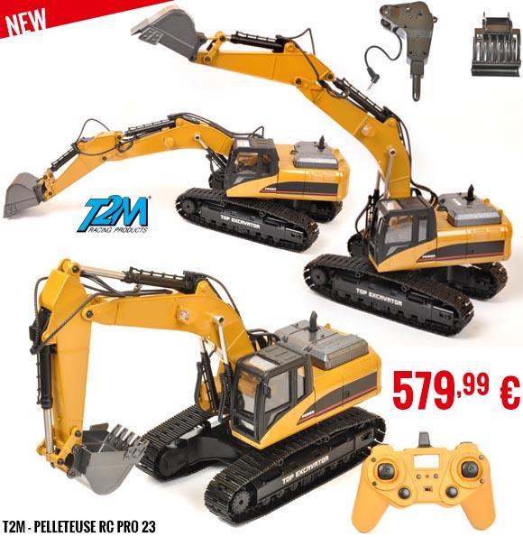 New - T2M - Pelleteuse RC Pro 23