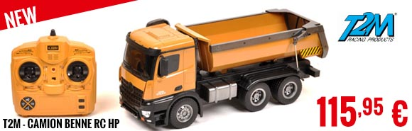 New - TSM - Dump Truck RC HP