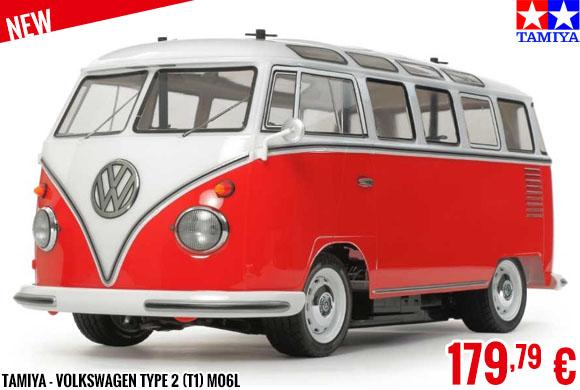New - Tamiya - Volkswagen Type 2 (T1) M06L