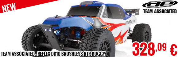 New - Team Associated - Reflex DB10 Brushless RTR Buggy