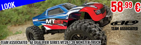 Look - Team Associated - AE Qualifier Series MT28 1:28 Monster Truck