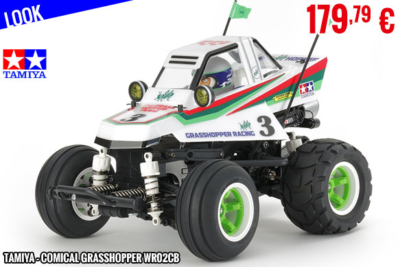 Look - Tamiya - Comical Grasshopper WR02CB
