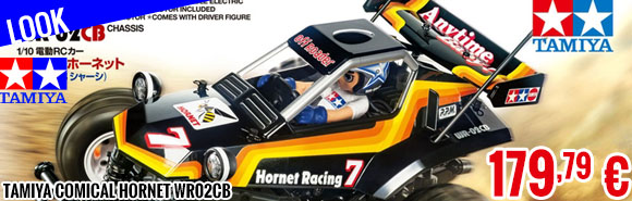 Look - Tamiya Comical Hornet WR02CB