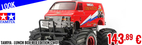 Look - Tamiya - Lunch Box Red Edition CW01