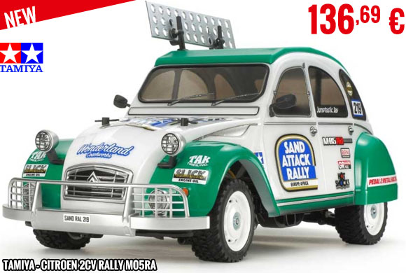 New - Tamiya - Citroen 2CV Rally M05RA