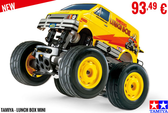 New - Tamiya - Lunch Box Mini