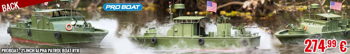 Back - ProBoat - 21-inch Alpha Patrol Boat RTR