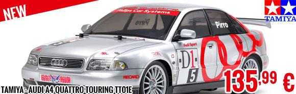 New - Tamiya - Audi A4 Quattro Touring TT01E