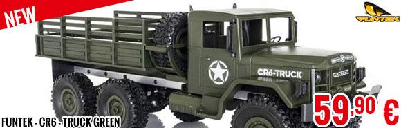 New - Funtek - CR6 - Truck Green