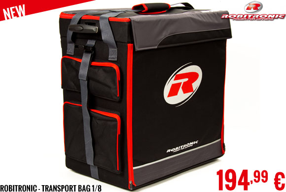 New - Robitronic - Transport Bag 1/8