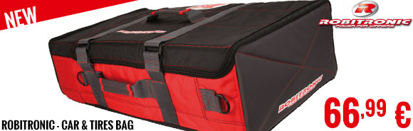 New - Robitronic - Car & Tires Bag