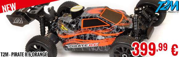 New - T2M - Pirate 8.6 Orange