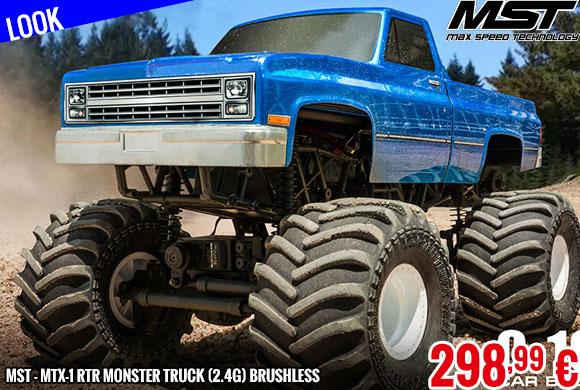 Look - MST - MTX-1 RTR Monster truck (2.4G) Brushless