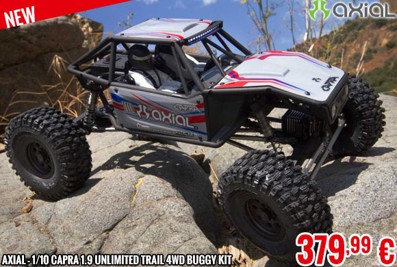 New - Axial - 1/10 Capra 1.9 Unlimited Trail 4WD Buggy Kit