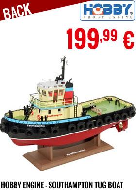 Back - Hobby Engine - Premium Label 2.4G Southampton Tug Boat