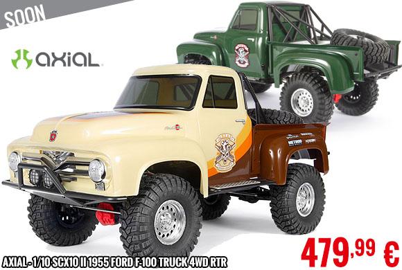 Soon - Axial - 1/10 SCX10 II 1955 Ford F-100 Truck 4WD RTR