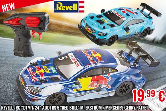 New - Revell 1/24 DTM RC Series