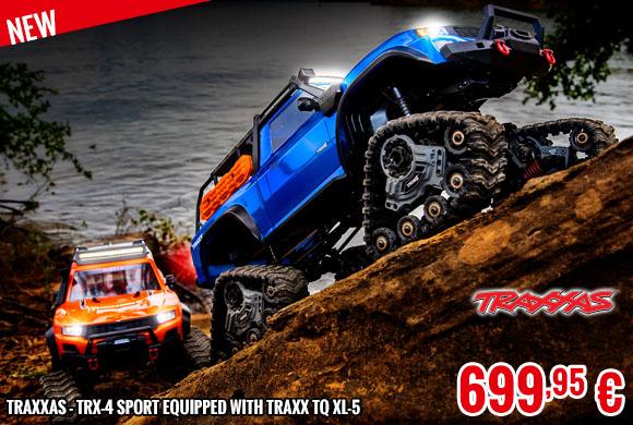 New - Traxxas - TRX-4 Sport equipped with TRAXX TQ XL-5