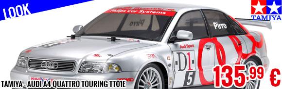 Look - Tamiya - Audi A4 Quattro Touring TT01E