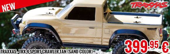 New - Traxxas - TRX-4 Sport Crawler Tan (Sand Color)