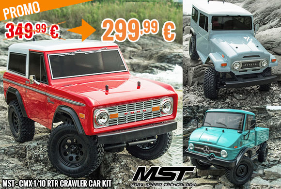Promo - MST - CMX 1/10 RTR Crawler Car Kit