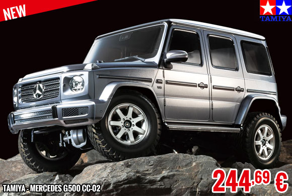New - Tamiya - Mercedes G500 CC-02