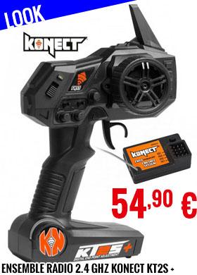 Look - Konect - Ensemble radio 2.4 GHZ Konect KT2S +