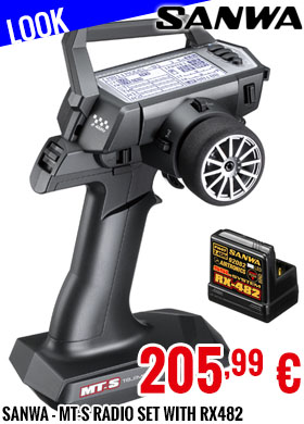 Look - Sanwa - MT-S Radio Set with RX482