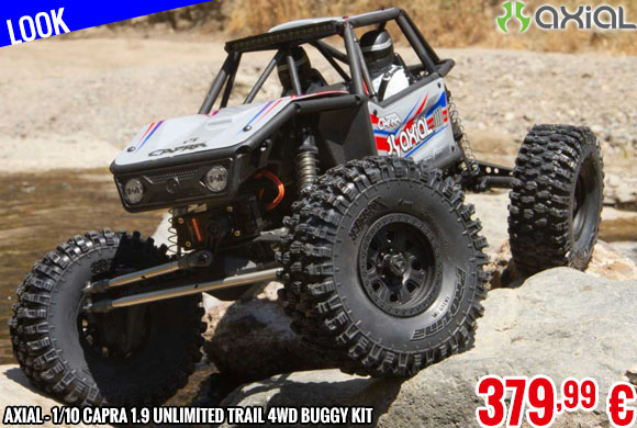 Look - Axial - 1/10 Capra 1.9 Unlimited Trail 4WD Buggy Kit