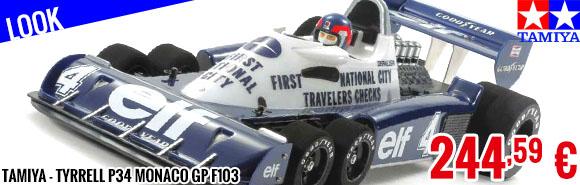 Look - Tamiya - Tyrrell P34 Monaco GP F103