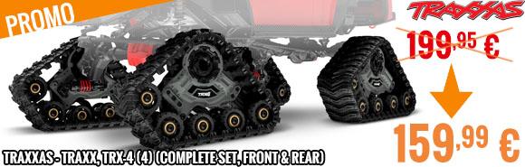 Promo - Traxxas - Traxx, TRX-4 (4) (complete set, front & Rear)