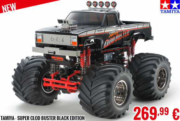 New - Tamiya - Super Clod Buster Black Edition