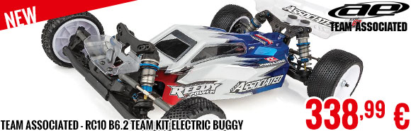New - Team Associated - RC10 B6.2 Team Kit Electric Buggy