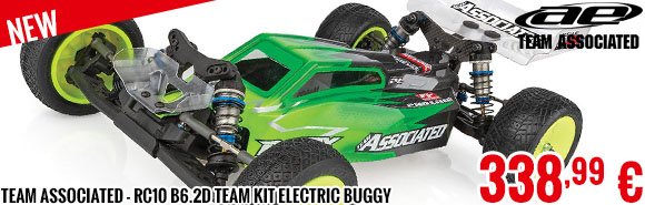 New - Team Associated - RC10 B6.2D Team Kit Electric Buggy